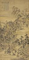 方士庶(1692~1751)廣遠平居圖 -  - 中国书画古代作品专场(清代) - 2008年秋季艺术品拍卖会 -收藏网
