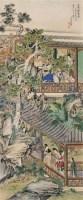 西园论艺图 立轴 纸本 - 刘凌沧 - 文物公司旧藏暨海外回流 - 2010秋季艺术品拍卖会 -收藏网