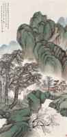 山水 立轴 设色纸本 - 袁培基 - 名家书画·油画专场 - 2006夏季书画艺术品拍卖会 -中国收藏网
