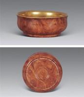 清乾隆 木釉碗 -  - 瓷器工艺品(一) - 2006年第3期嘉德四季拍卖会 -收藏网