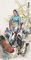 富贵吉祥 镜心 设色纸本 - 147968 - 中国书画(一) - 2010年秋季艺术品拍卖会 -收藏网