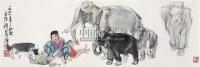 版纳风情 镜心 设色纸本 - 史国良 - 中国书画(一) - 2010年秋季艺术品拍卖会 -收藏网