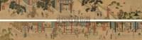 汉宫春晓 手卷 设色纸本 - 116944 - 中国书画三 - 2010秋季艺术品拍卖会 -收藏网