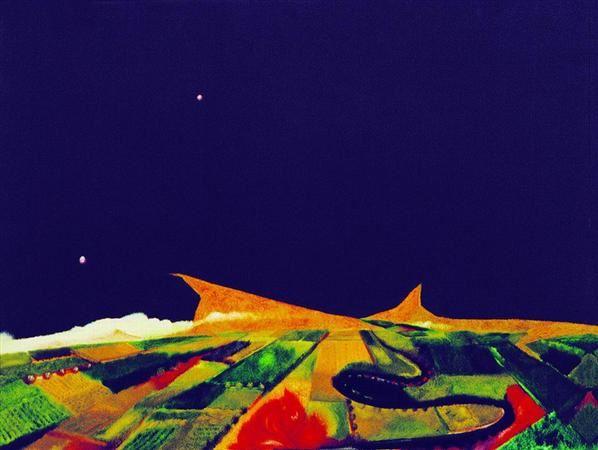 黄宇兴   山的少年期 - 44160 - 名家西画 当代艺术专场 - 2008年秋季艺术品拍卖会 -收藏网