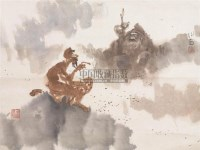 人物 立轴 设色纸本 - 115956 - 中国书画(二) - 2006春季拍卖会 -收藏网
