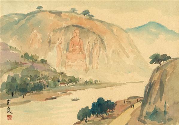 乐山大佛 - 139880 - 油画 - 2010年秋季拍卖会 -收藏网