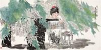人物 镜心 设色纸本 - 王有政 - 中国书画(一) - 2006春季拍卖会 -中国收藏网