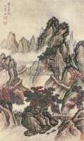 山水 立轴 绢本 - 文伯仁 - 中国书画 - 2010秋季艺术品拍卖会 -中国收藏网