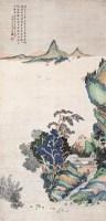 山水 立轴 设色纸本 - 陈达 - 名家书画·油画专场 - 2006夏季书画艺术品拍卖会 -收藏网