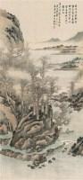 林泉高逸图 立轴 设色绢本 - 林纾 - 中国书画一 - 2010年秋季艺术品拍卖会 -收藏网