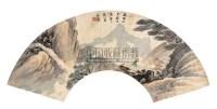 山水 扇面 设色纸本 - 王宸 - 中国书画 - 第9期中国艺术品拍卖会 -收藏网