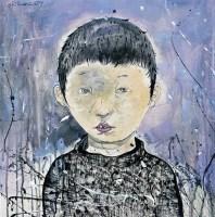李继开  肖像 - 139804 - 名家西画 当代艺术专场 - 2008年秋季艺术品拍卖会 -收藏网
