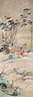 吴光宇 雪景童戏 立轴 - 吴光宇 - 中国书画、油画 - 2006艺术精品拍卖会 -收藏网