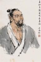 鲁班造像   立轴 设色纸本 - 李世南 - 中国书画 - 2010秋季艺术品拍卖会 -收藏网