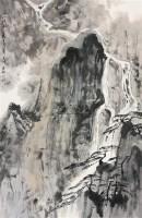 高山流水 立轴 纸本 - 亚明 - 中国书画(下) - 2010瑞秋艺术品拍卖会 -收藏网