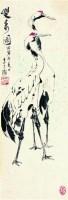 李丁陇 鹤 -  - 中国书画  - 上海青莲阁第一百四十五届书画专场拍卖会 -收藏网