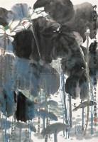 鲁迅诗意图 镜片 设色纸本 - 方济众 - 中国书画 - 2010秋季艺术品拍卖会 -中国收藏网