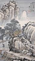 山水 立轴 纸本 - 袁松年 - 中国书画(上) - 2010瑞秋艺术品拍卖会 -收藏网