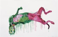 周春芽 2006年作 绿狗之一25/50 - 8738 - 西画雕塑(上) - 2006夏季大型艺术品拍卖会 -收藏网