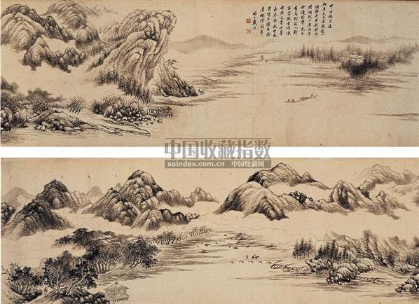 仿燕文贵山水 - 13561 - 中国书画古代作品 - 2006春季大型艺术品拍卖会 -收藏网