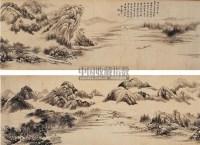 仿燕文贵山水 - 戴熙 - 中国书画古代作品 - 2006春季大型艺术品拍卖会 -收藏网