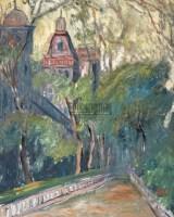 风景 木板  油画 - 刘戈 - 中国油画 - 2006春季拍卖会 -收藏网