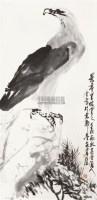 雄鹰 立轴 纸本 - 张立辰 - 中国书画 - 2010秋季艺术品拍卖会 -收藏网