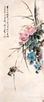 金梦石 花鸟 立轴 - 金梦石 - 中国书画、油画 - 2006艺术精品拍卖会 -收藏网