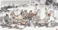 竹林七贤图 - 125668 - 中国书画近现代名家作品 - 2006春季大型艺术品拍卖会 -收藏网