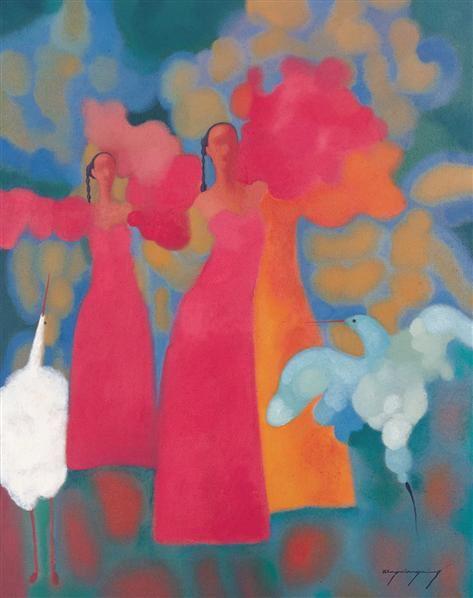 书法 四屏 水墨纸轴 - 21025 - 西画雕塑(上) - 2006夏季大型艺术品拍卖会 -中国收藏网