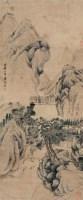 山水 镜片 纸本 - 陆恢 - 中国书画(下) - 2010瑞秋艺术品拍卖会 -收藏网