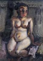 罗中立 浴女 - 罗中立 - 西画雕塑(下) - 2006夏季大型艺术品拍卖会 -收藏网