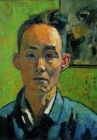 闵希文  自画像 - 闵希文 - 名家西画 当代艺术专场 - 2008年秋季艺术品拍卖会 -中国收藏网