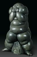 呂品昌(b.1962)羅漢No.6 -  - 首届当代中国雕塑专场 - 2008年春季拍卖会 -中国收藏网