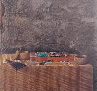 黄鸣 1999年作 棋圣 - 65199 - 西画雕塑(上) - 2006夏季大型艺术品拍卖会 -收藏网