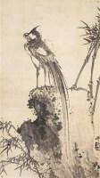 墨凤图 立轴 水墨纸本 - 116899 - 中国书画(一) - 2006春季拍卖会 -收藏网