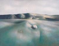 罗发辉 1997年作 云朵下一小人 - 罗发辉 - 西画雕塑(上) - 2006夏季大型艺术品拍卖会 -收藏网