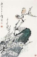 花鸟 立轴 纸本 - 孙其峰 - 中国书画 - 2010年秋季书画专场拍卖会 -中国收藏网
