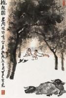 秋趣图 镜心 设色纸本 - 139817 - 中国书画三 - 2010秋季艺术品拍卖会 -收藏网