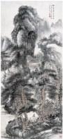 張大千(1899~1983)    秋山蕭寺圖 -  - 中国书画近现代十位大师作品 - 2006春季大型艺术品拍卖会 -收藏网