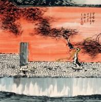 杨延文 山水 立轴 - 杨延文 - 中国书画、油画 - 2006艺术精品拍卖会 -收藏网