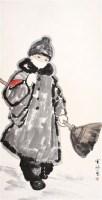 王有政 人物 立轴 - 王有政 - 中国书画、油画 - 2006艺术精品拍卖会 -中国收藏网