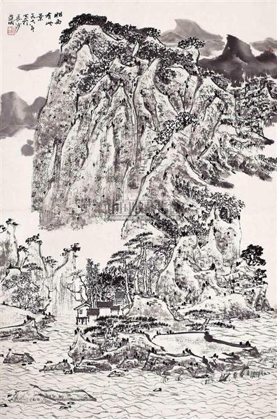 湘西胜景图 - 2538 - 西泠印社部分社员作品 - 2006春季大型艺术品拍卖会 -收藏网