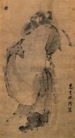 钟馗 立轴 水墨纸本 - 高其佩 - 中国书画 - 第9期中国艺术品拍卖会 -收藏网