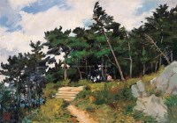 莫干山 布面  油画 - 费以复 - 华人西画 - 2006年度大型经典艺术品拍卖会 -收藏网