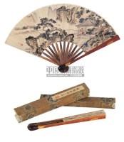 放鹤亭图 - 黄均 - 中国书画成扇 - 2006春季大型艺术品拍卖会 -收藏网