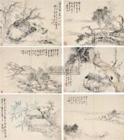 杂画册页 册页 纸本设色 - 钱维城 - 中国古代书画  - 2010秋季艺术品拍卖会 -收藏网