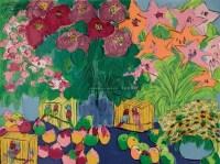 桃与鲜花 版画 - 111497 - 油画专场  - 2010秋季艺术品拍卖会 -收藏网