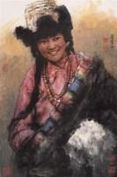 好时光 镜心 设色纸本 - 南海岩 - 中国书画 - 第54期书画精品拍卖会 -收藏网