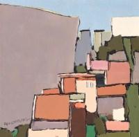 花鸟 设色纸轴 - 116015 - (西画)当代艺术专题 - 2006年秋季精品拍卖会 -收藏网